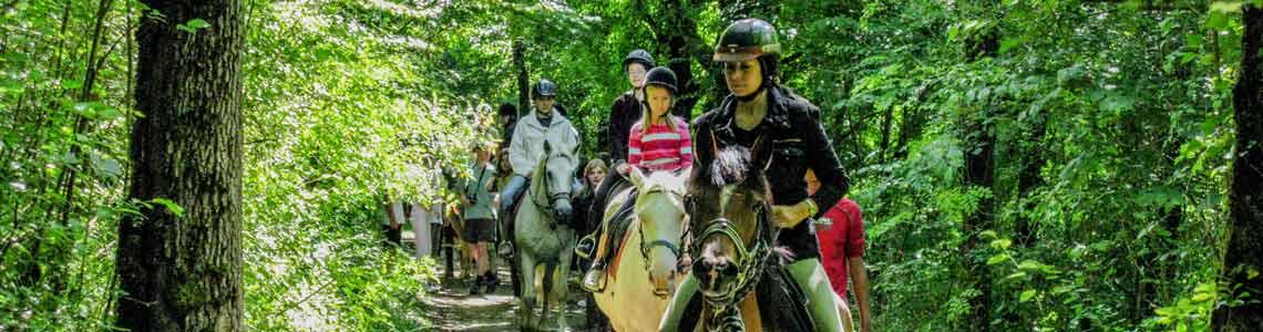 Camping équitation Dordogne