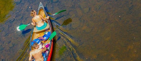 Camping Kayak Dordogne