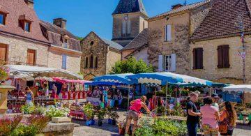 Camping marchés Périgord