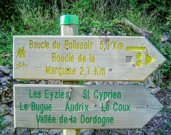 Camping randonnée Dordogne