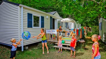 Location mobil-home camping 4 étoiles Dordogne