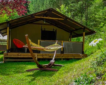 Location tente camping 4 étoiles Dordogne