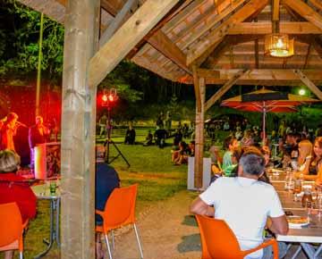 Soirée camping 4 étoiles Dordogne