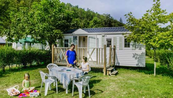 Vente mobil-home camping Dordogne