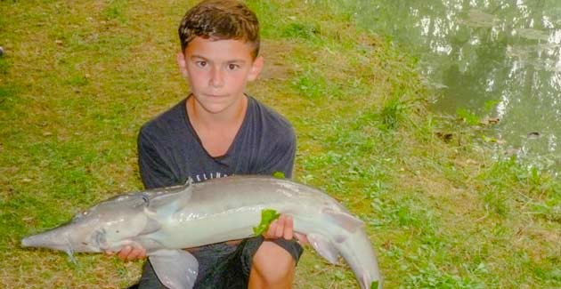 Camping avec étang de pêche Sarlat