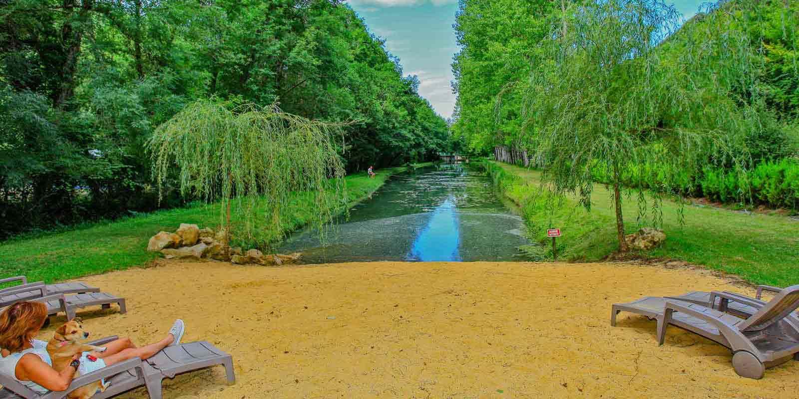 Camping pêche Dordogne