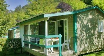 Mobil-home camping 4 étoiles Dordogne