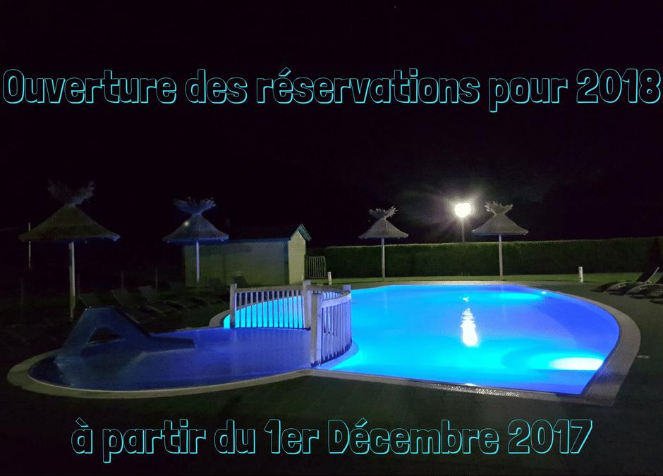 Réservation 2018