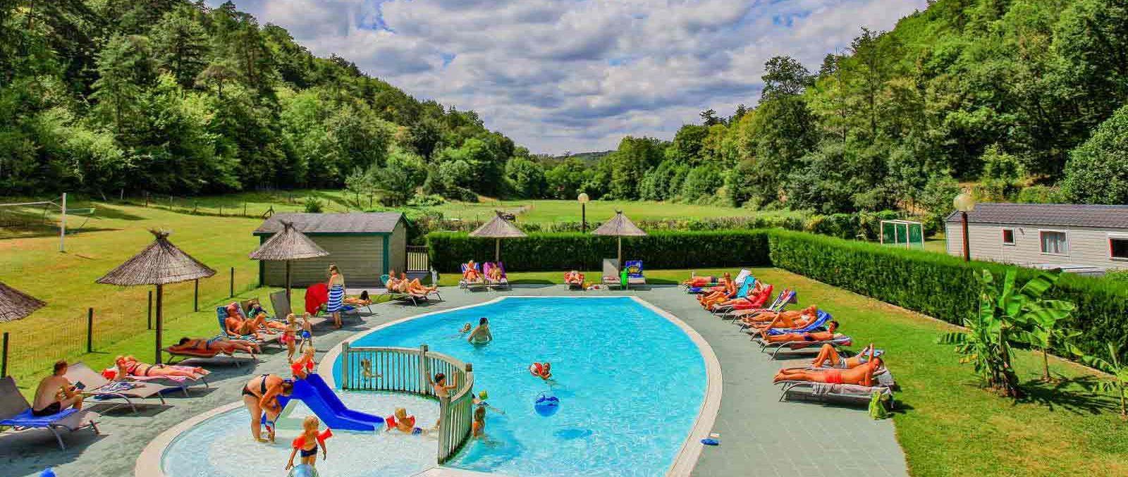 camping avec piscine Dordogne