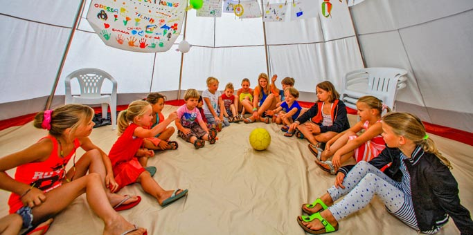 club enfant camping dordogne