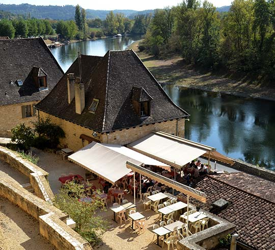restaurant roque gageac